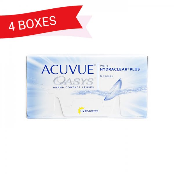 ACUVUE OASYS (4 Boxes)