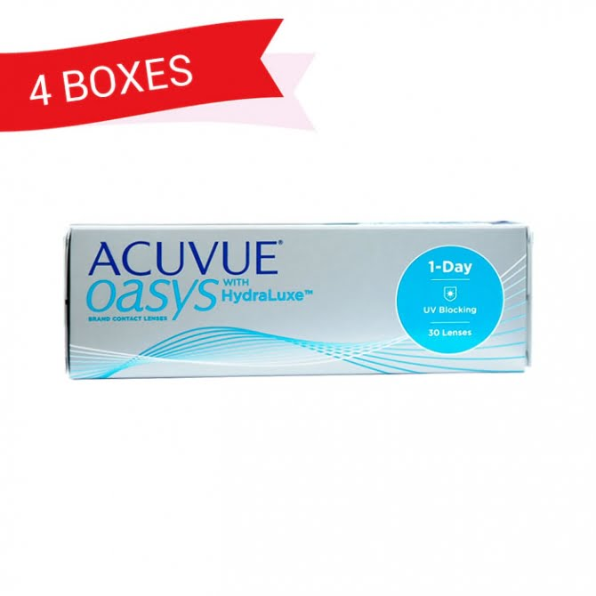 ACUVUE OASYS 1-DAY (4 Boxes)