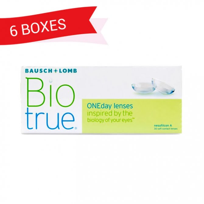 BIOTRUE ONEDAY (6 Boxes)