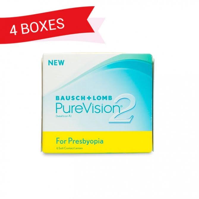 PUREVISION 2 FOR PRESBYOPIA (4 Boxes)