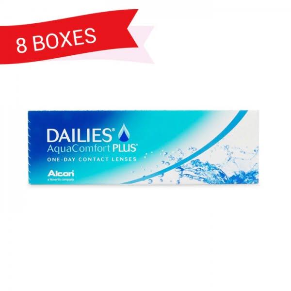 DAILIES AQUACOMFORT PLUS (8 Boxes)