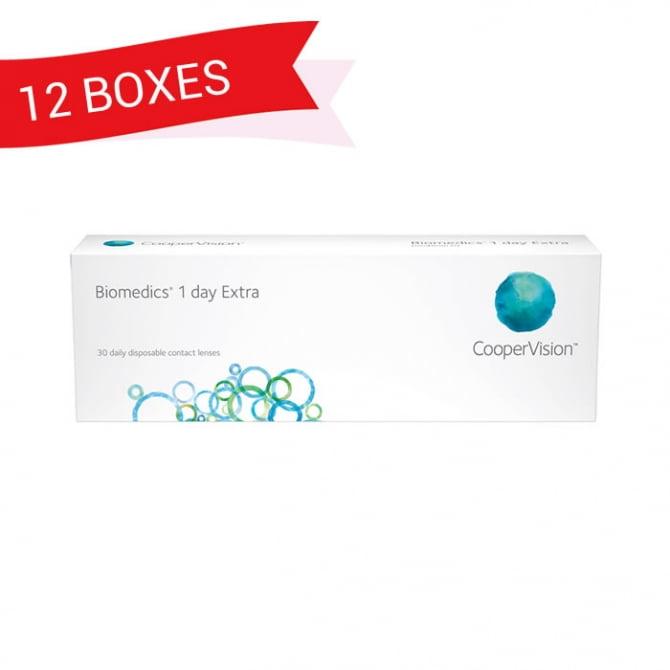 BIOMEDICS 1 DAY EXTRA (12 Boxes)