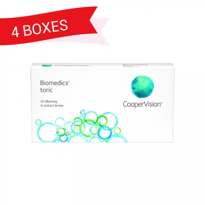 BIOMEDICS TORIC (4 Boxes)