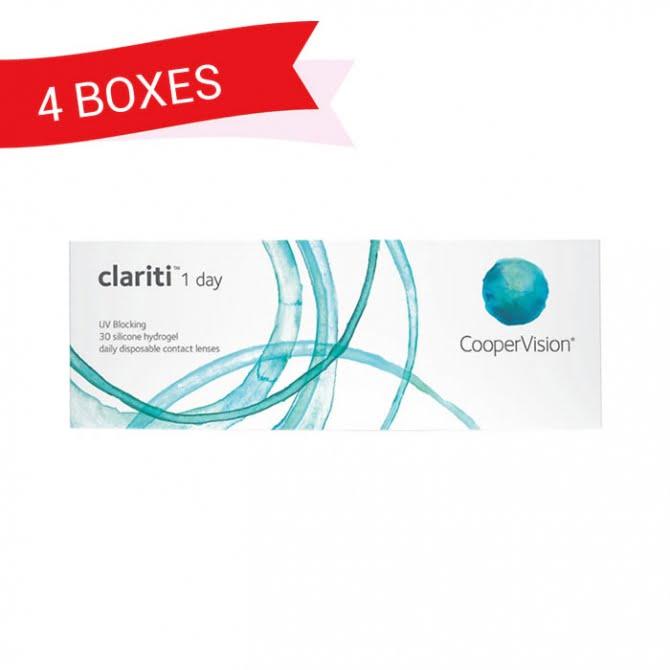 CLARITI 1 DAY (4 Boxes)