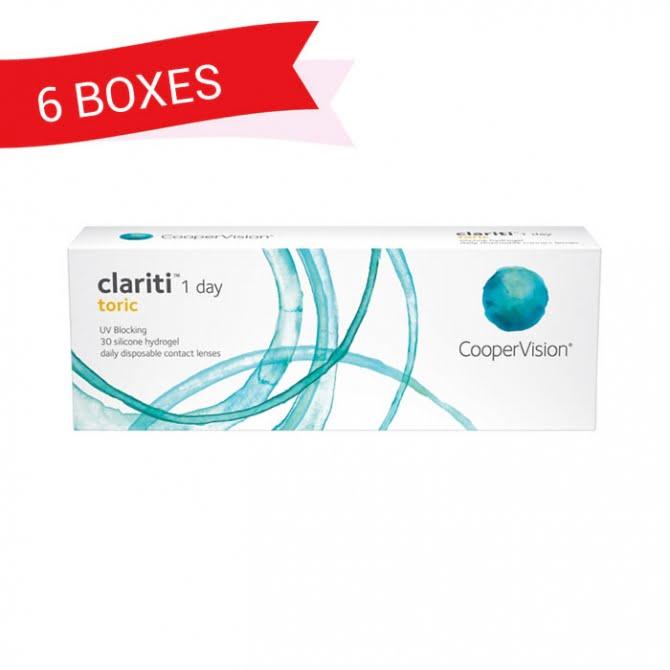 CLARITI 1 DAY TORIC (6 Boxes)