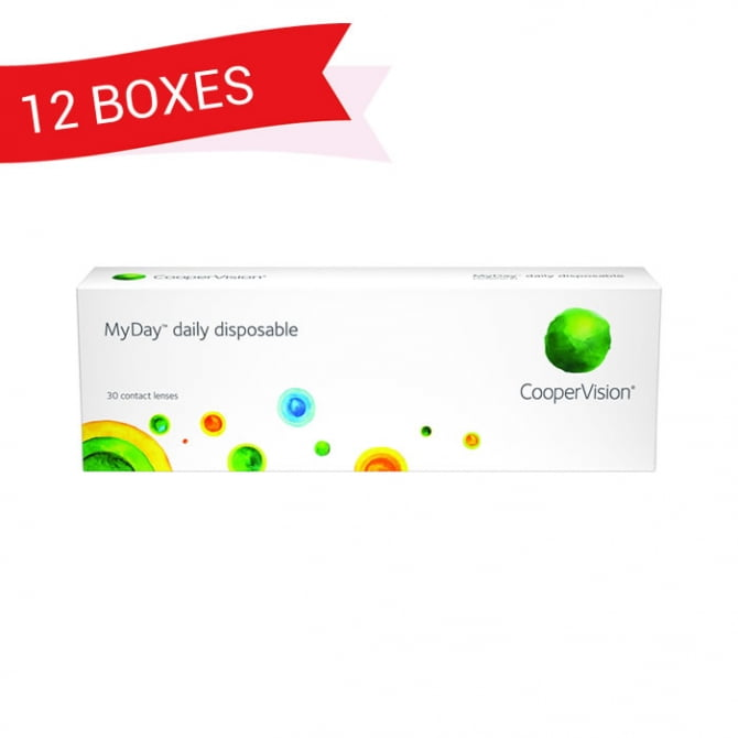 MYDAY DAILY DISPOSABLE (12 Boxes)