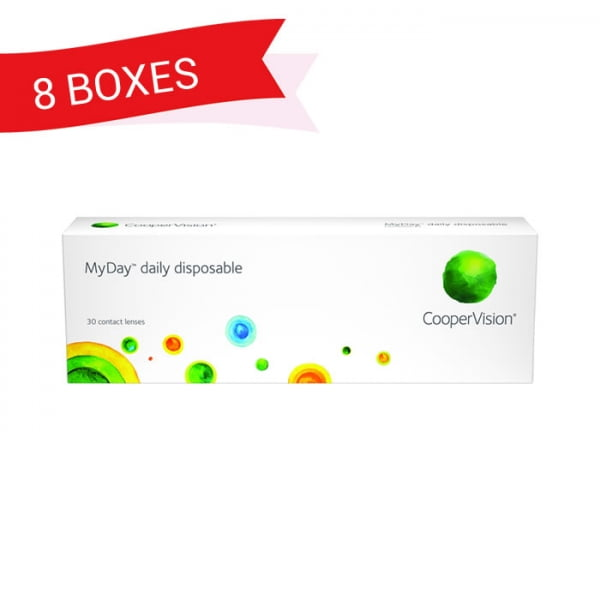 MYDAY DAILY DISPOSABLE (8 Boxes)