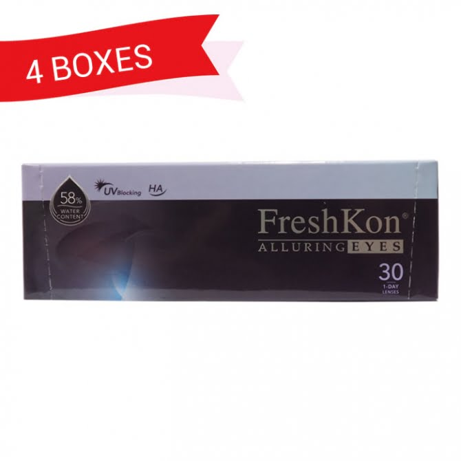 FRESHKON 1-DAY ALLURING EYES (4 Boxes)