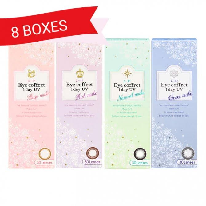 EYE COFFRET 1 DAY UV (8 Boxes)