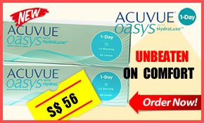 One Day Acuvue Oasys with HydraLuxe