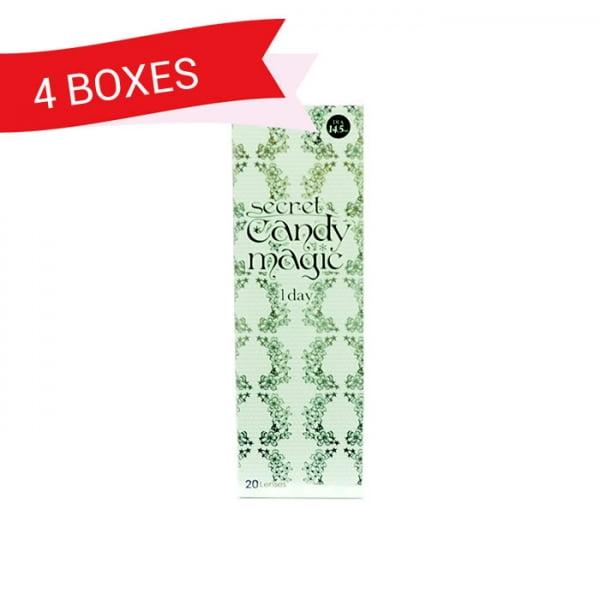 SECRET CANDY MAGIC 1DAY (4 Boxes)