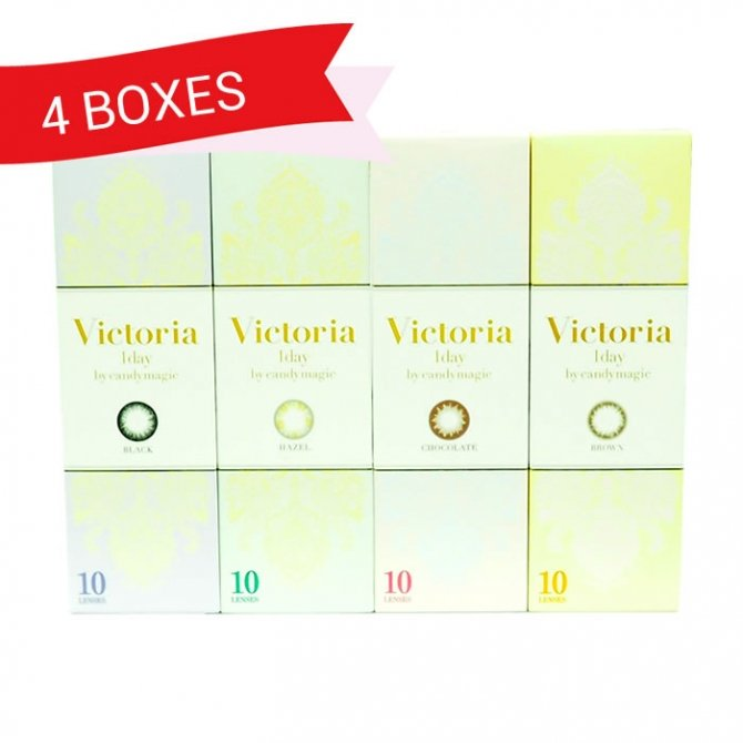 VICTORIA 1DAY BY CANDY MAGIC (4 Boxes)