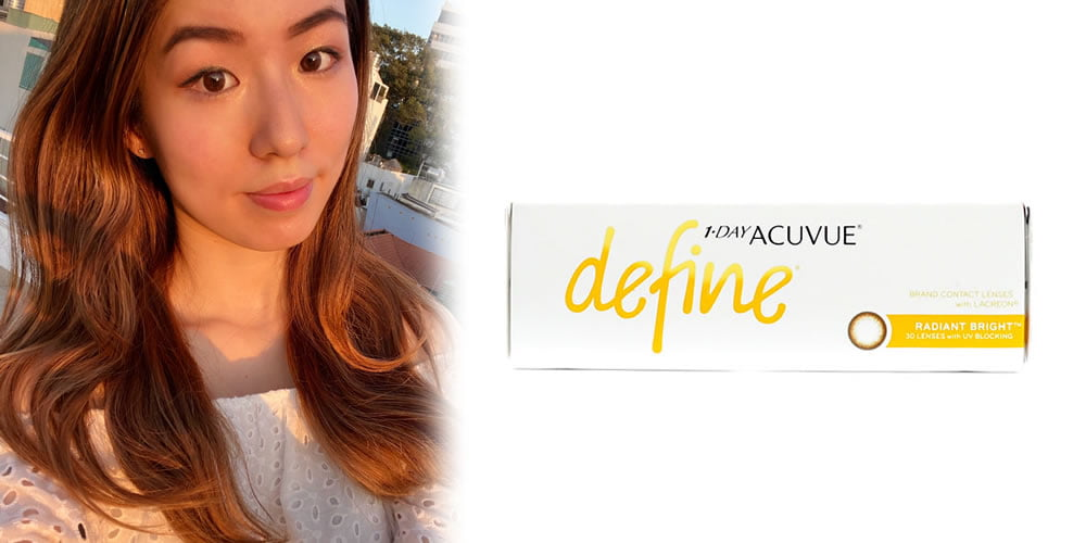 1-Day Acuvue Define Radiant Bright