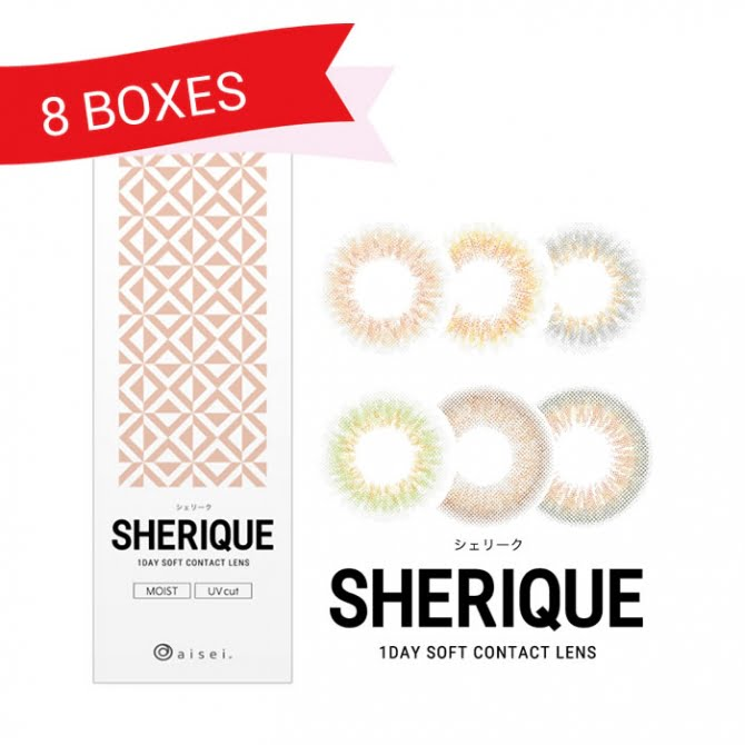 Sherique 1 Day (8 Boxes)