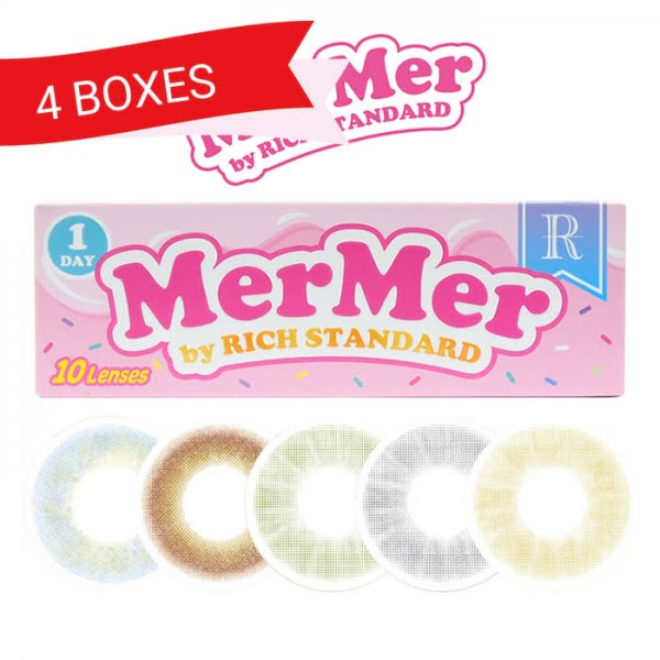 MerMer by Rich Standard (4 Boxes)