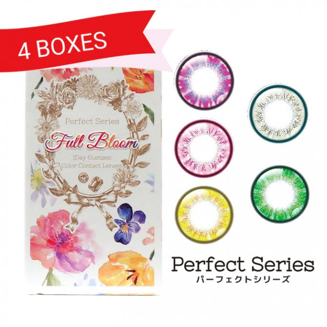 Perfect Series Full Bloom 1 Day (4 Boxes)