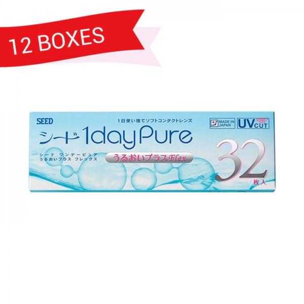 SEED 1dayPure Moisture Flex (12 Boxes)