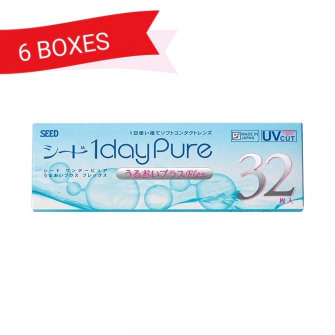 SEED 1dayPure Moisture Flex (6 Boxes)