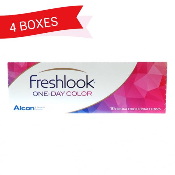 FRESHLOOK ONEDAY 4 boxes