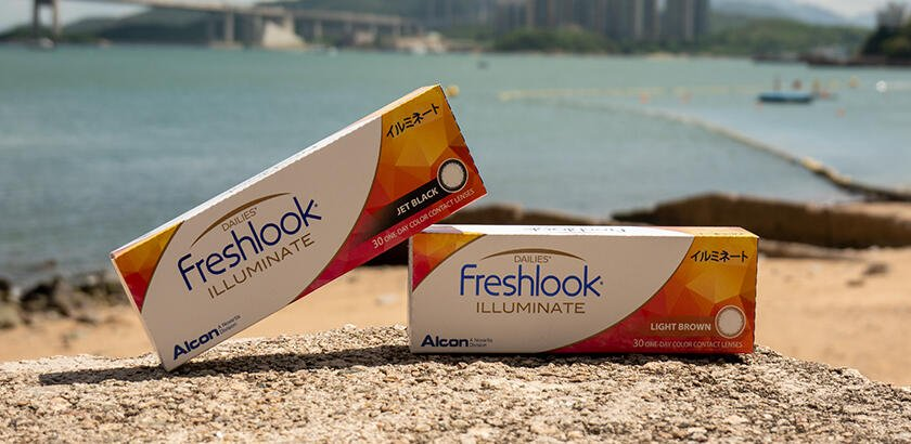 A NEW CHOICE FOR COLOR CONTACTS: ALCON FRESHLOOK ILLUMINATE